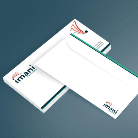 DL White Envelope